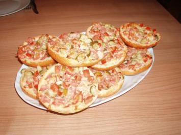Rezept: Pizza-Semmeln