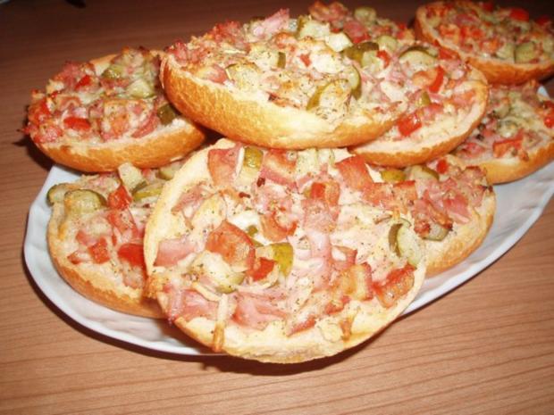 Pizza-Semmeln - Rezept - Bild Nr. 2