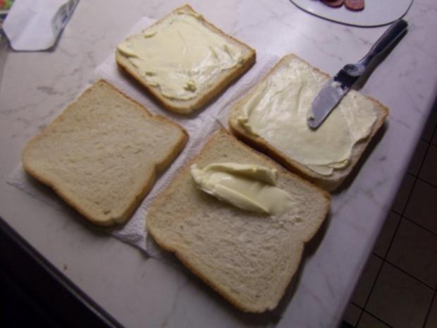 Cheese-Sandwich - Rezept - Bild Nr. 2