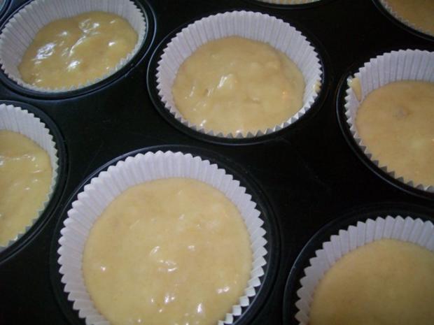 Bananen Cupcakes mit Honig-Frosting - Rezept - Bild Nr. 3