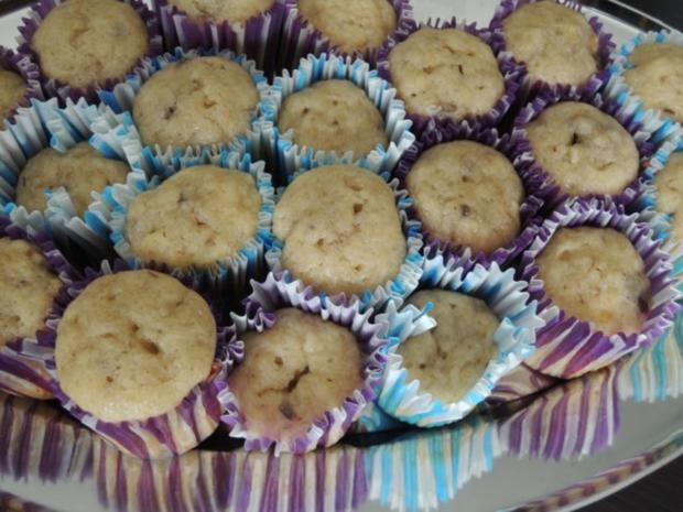 Bananen Cupcakes mit Honig-Frosting - Rezept - Bild Nr. 9