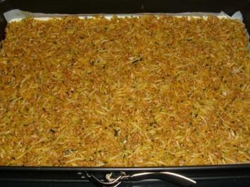 Pikanter Zucchinikuchen - Rezept