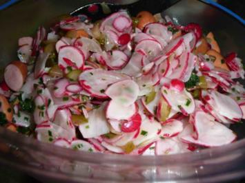 Rezept: Radieschen-Salat