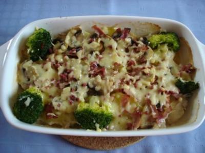 Kartoffel-Auflauf á la Tanja - Rezept