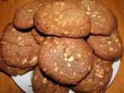 White Chocolate Chip Cookies - Rezept