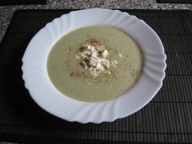 """Broccoli-Suppe """"light"""" für Eilige - Rezept"""