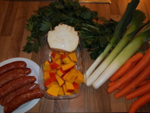 Kürbissuppe aus Hokkaidokürbis - Rezept - Bild Nr. 2