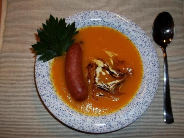 Kürbissuppe aus Hokkaidokürbis - Rezept