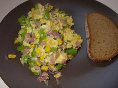 Herzhafte Eierspeise - Rezept