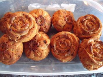 Bananen-Walnuss-Muffins - Rezept