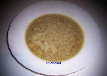 Kochen: Einlaufsuppe ... ala Oma - Rezept