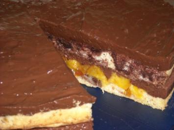 Schoko-Nektarinen-Torte - Rezept