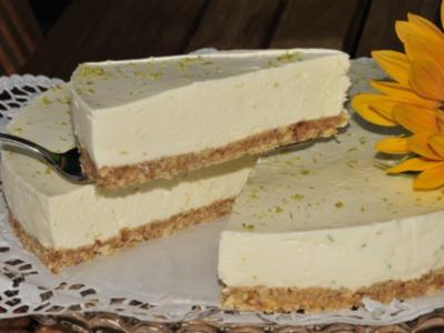 Lime-Cheesecake - Rezept