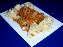 Filet-Gemüse-Pfanne mit Tagliatelle - Rezept