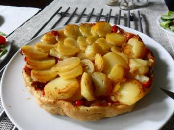 Kartoffel-Tarte-Tatin - Rezept