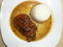 Fleischgerichte:Minutensteaks in Biersoße - Rezept