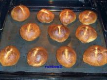 Backen: Weizen-Dinkel-Brötchen - Rezept
