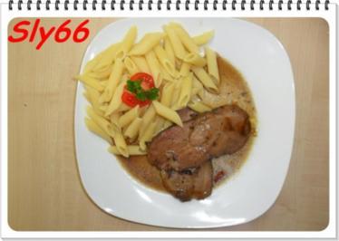 Fleischgerichte:Schweinehals sanft Gegart - Rezept
