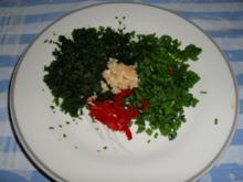 Putenröllchen mit Kräuterfrischkäse - Rezept