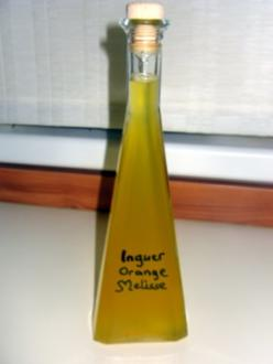 Orangen-Ingwer-Sirup mit Zitronenmelisse - Rezept