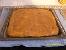 Apfelkompott-Blechkuchen - Rezept
