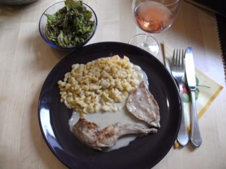 Fleisch: Kaninchen in Wacholderrahm - Rezept