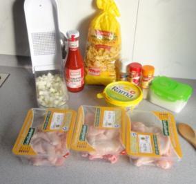 Hähnchenflügel a la Schneider - Rezept