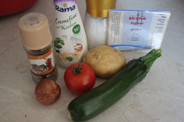 Kartoffeln-Tomaten-Zucchini-Gratin - Rezept - Bild Nr. 2