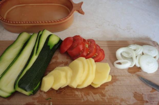 Kartoffeln-Tomaten-Zucchini-Gratin - Rezept - Bild Nr. 3