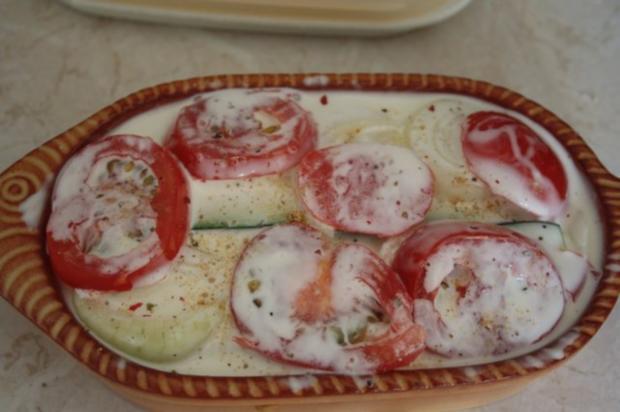 Kartoffeln-Tomaten-Zucchini-Gratin - Rezept - Bild Nr. 4