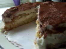 Torta Tiramisu - Rezept