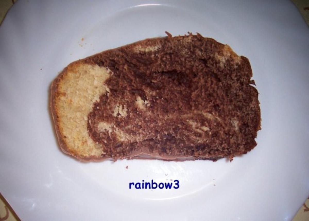 Backen: Marmorkuchen mit Vollkornmehl