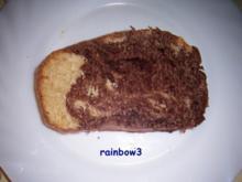Backen: Marmorkuchen mit Vollkornmehl - Rezept