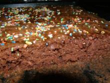Schokoladenkuchen für Kindergeburtstag - Rezept
