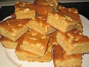Erdnussbutter Brownie Kuchen - Rezept