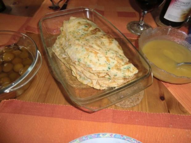 Pfannkuchen als süßes Hauptgericht - Rezept - Bild Nr. 2