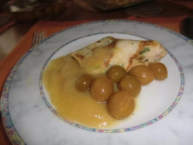 Pfannkuchen als süßes Hauptgericht - Rezept