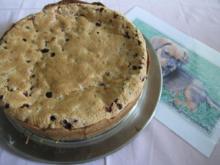 Johannisbeerkuchen oder auch Träubleskuchen (auf schwäbisch genannt) - Rezept