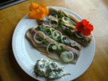 Matjes mit Kräuterquark - Rezept