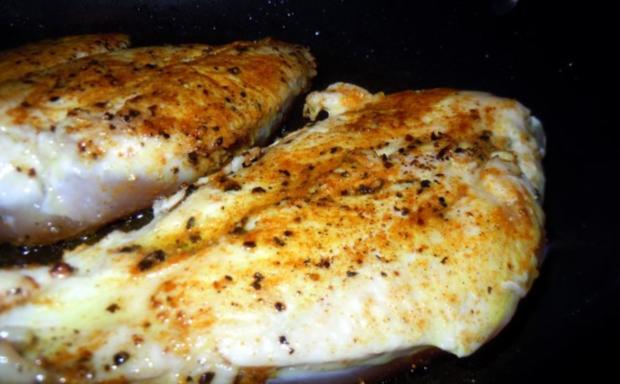 Überbackenes Curry-Pfirsich-Hähnchen - Rezept - Bild Nr. 2
