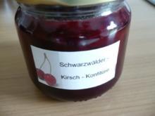 Schwarzwälder - Kirsch - Konfitüre - Rezept