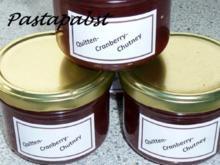 Quitten-Cranberry-Chutney - Rezept