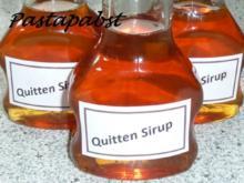Quitten-Sirup - Rezept