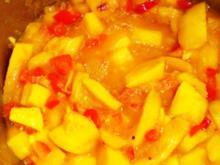 Mungo-Chutney mit Paprika - Rezept