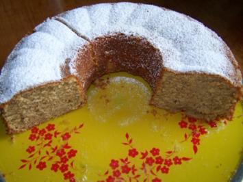 Nuss-Quark Kuchen - Rezept