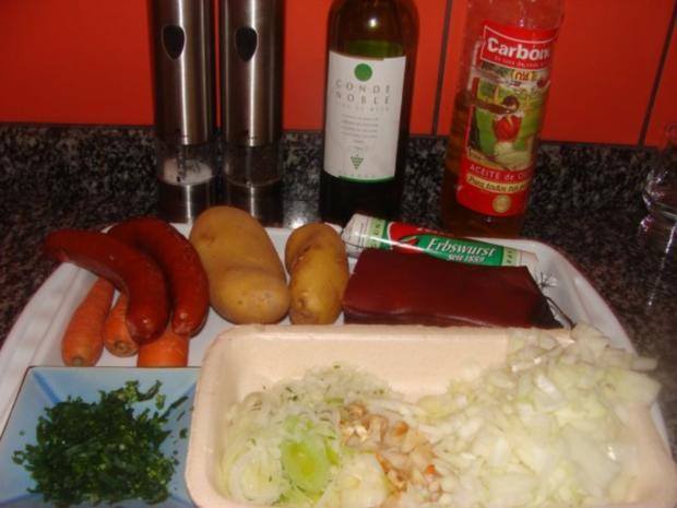 Suppe : - Meine Erbsensuppe - - Rezept - Bild Nr. 3