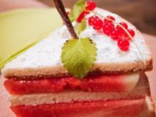 Melonen Torte - Rezept