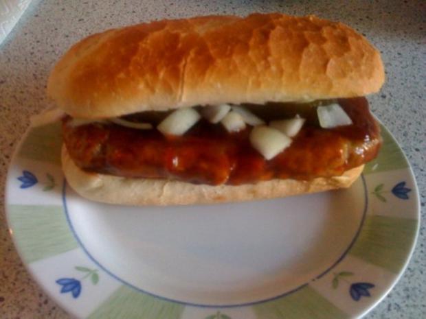 Burger: Mc R.I.P.-Clone - Rezept