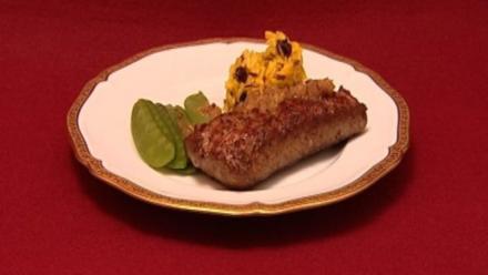 Güldenes Lamm an süßem Reis (Judith Hellebronth) - Rezept