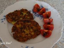 Zucchini Taler - Rezept